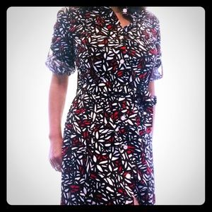 St John Sport Cotton Safari Dress